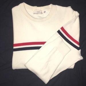 Red/White/Blue H&M Crewneck Sweater